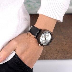 Image 2 - BOBO BIRD นาฬิกาผู้ชายไม้ Clearance ราคาโปรโมชั่น QUARTZ นาฬิกาข้อมือชาย relogio masculino ขายส่งคุณภาพสูง
