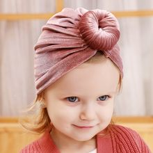 Cute Children Kids Winter Beanies High Quality Hemming Velvet Cap Fashion Comfortable Baggy Manual Skullies Hedging Hats(China)