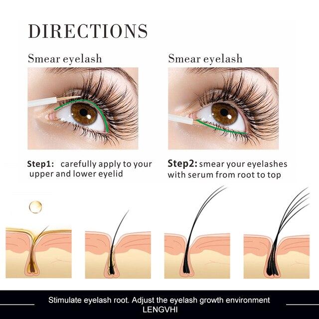 5ml naturel efficace vente chaude rehausseur de cils Booster de croissance des cils des yeux sérum Irritation libre des cils traitements améliorant le liquide