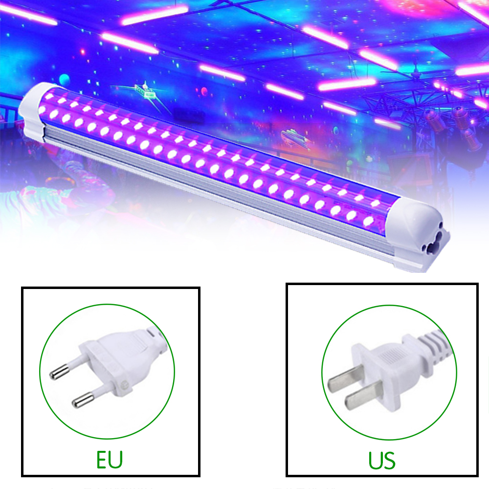 LED Disco Light 10W Stage Light DJ UV Purple Led Tube For Party Christmas BarParty Body Paint Spot Light Backlight