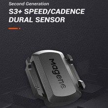 Magene Sensor de cadencia de bicicleta velocímetro, ANT +, Bluetooth 4,0, inalámbrico, para Strava, garmin, bryton, iGPSPORT, Ordenador de bicicleta