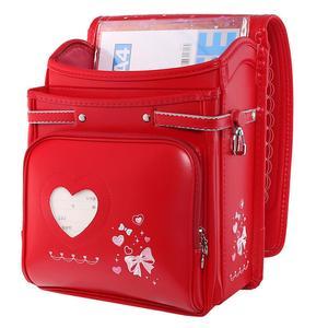 Image 3 - Coulomb yüksek kaliteli çocuk kız çocuk ortopedik sırt çantası okul öğrencileri okul çantalarını japonya PU sevimli ilmek Randoseru bebek çantaları