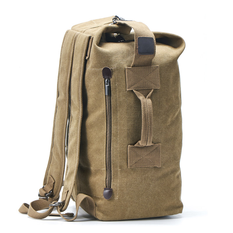 2019 New Large Capacity Rucksack Man Travel Bag Mountaineering Backpack Male Luggage Canvas Bucket Shoulder Bags Men Backpacks