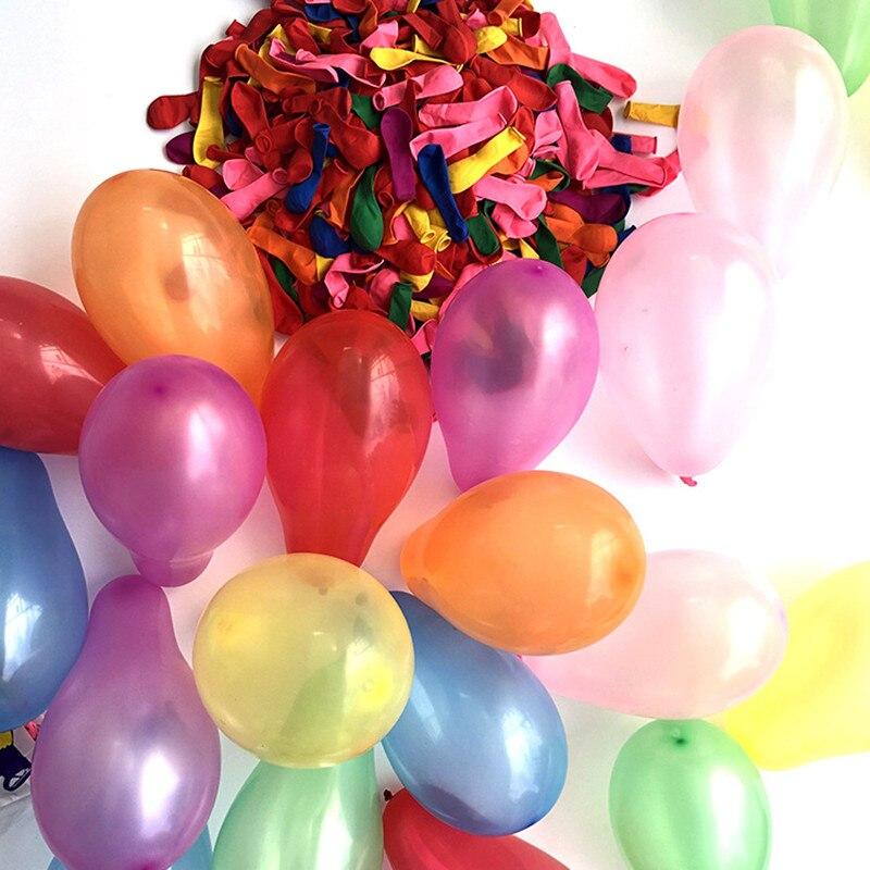 100 шт./лот, цветные латексные шары, надувные шары для дома, дня рождения, вечеринки, свадьбы, украшения для свадьбы