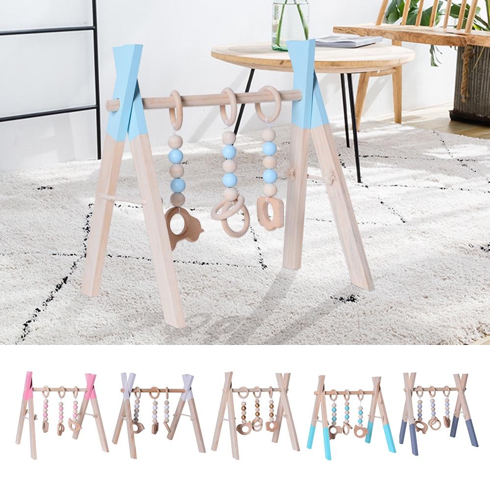 מובייל מעץ צעצוע ידידותי לסביבה לתינוק