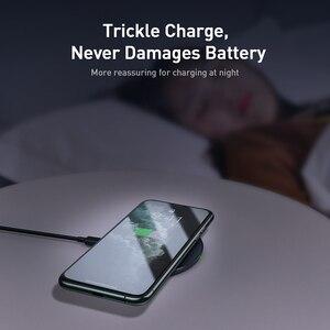 Image 5 - Baseus 15ワットチー高速ポッド用ポッドproのガラスパネル薄型可視ワイヤレス電話の充電器iPhone11 x xs最大