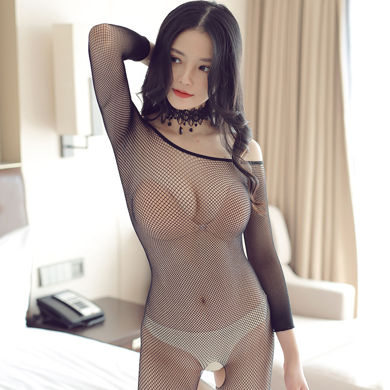 Women Lingerie Sexy Erotic Dress Sex Push Up Sleepwear Underwear Nightwear Dress Fashion Transparent Fishnet Porno Sleepwear