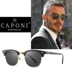 Image 3 - CAPONI Polarized Sunglasses Men Women Popular Brand Classic Design Sun Glasses Coating Lens Shade Fashion Girls Eyewear CP3101
