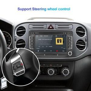 Image 4 - Isudar lecteur multimédia, avec DSP, lecteur DVD, avec GPS, pour VW/Volkswagen POLO, Golf, Skoda, Octavia, Seat Leon, Android 10, 2 Din