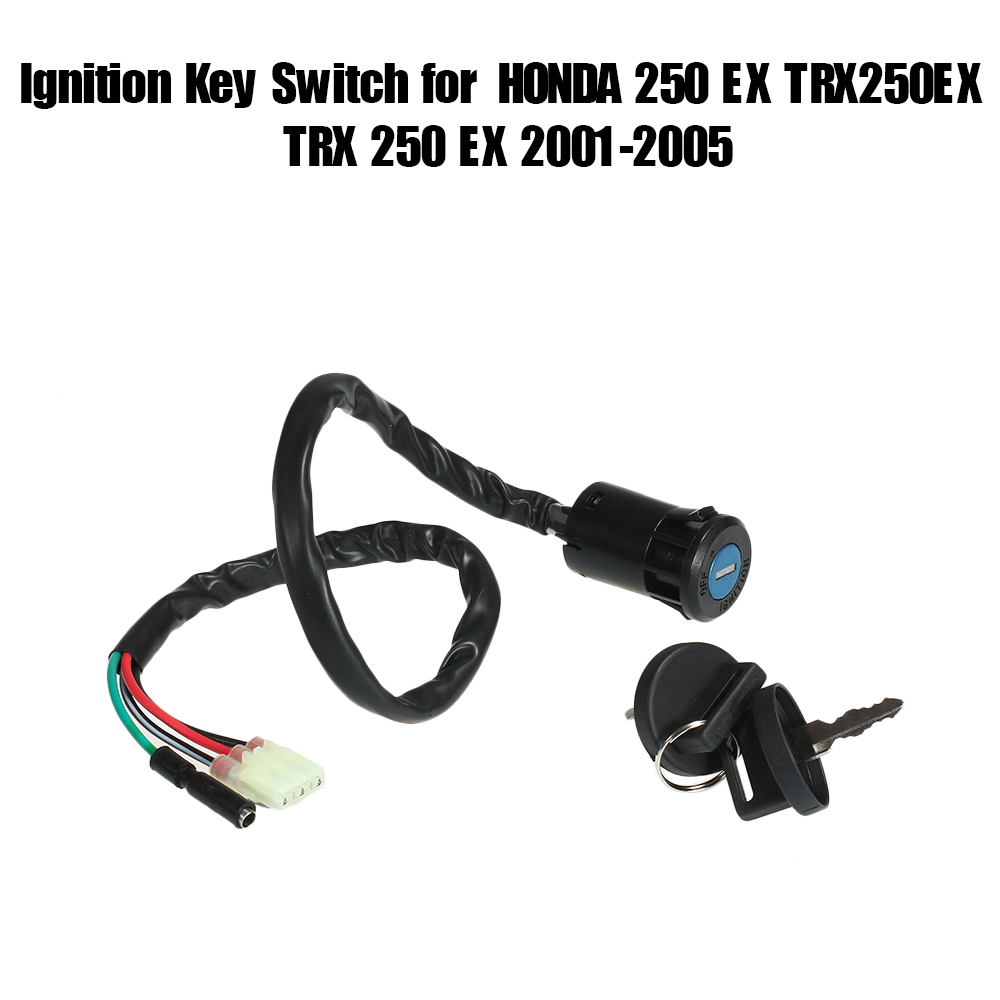 Car Accessories Ignition Key Switch for HONDA <font><b>250</b></font> TRX250 TRX <font><b>250</b></font> ATV 1997-2001 for HONDA <font><b>250</b></font> EX TRX250EX TRX <font><b>250</b></font> EX 2001-2005 image