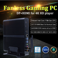 New 10th GEN Fanless Mini Intel i7 10710U 10510U Desktop PC Windows 10 12*DDR4 M.2 NVMe+Msata+2.5''SATA 4K HTPC Nettop HDMI DP