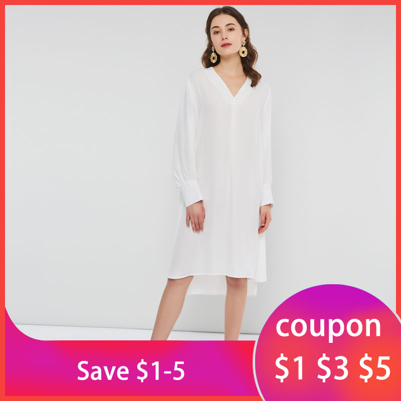 White <font><b>Chiffon</b></font> <font><b>Dress</b></font> <font><b>Women</b></font> Thin Sunscreen See Through <font><b>Sexy</b></font> Spring Loose Simple <font><b>Elegant</b></font> Holiday Sweet Girl <font><b>Fashion</b></font> Casual <font><b>Dresses</b></font> image