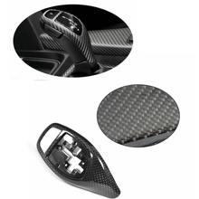 Carbon Fiber Center Gear Shift Cover Trim For BMW F20 F22 F30 F32 F10 Fit M Sport 2012-2017 Replacement
