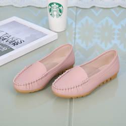Новая стильная женская обувь в горошек; сезон весна-осень обувь на плоской подошве для медсестры КОМФОРТНОЕ МАТЕРИНСТВО обувь для мам