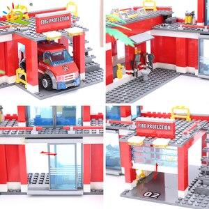 Image 5 - Детский конструктор «пожарный», 774 блоков