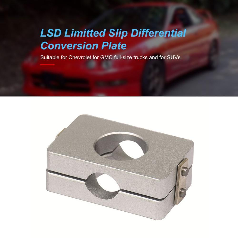 LSD Limitted Slip Differential Conversion Plate For 90-02 Honda Civic Crx Del Sol Accord Integra 88-01 Prelude EK EG EF DC2