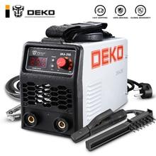 DEKO 220V 200/250A IGBT инвертор переменного тока дуговой сварочный аппарат MMA сварочный аппарат для сварки рабочих и электрических рабочих w/аксессуары