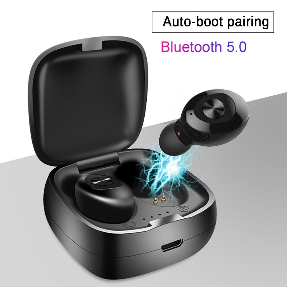 Один XG12 TWS беспроводной Bluetooth 5,0 наушники стерео HIFI Звук спортивные наушники гарнитура в ухо игровая гарнитура с микрофоном