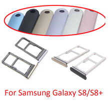 Tray-Reader-Holder Sim-Card S8plus Galaxy Samsung Slot for Top-Quality G950 G955