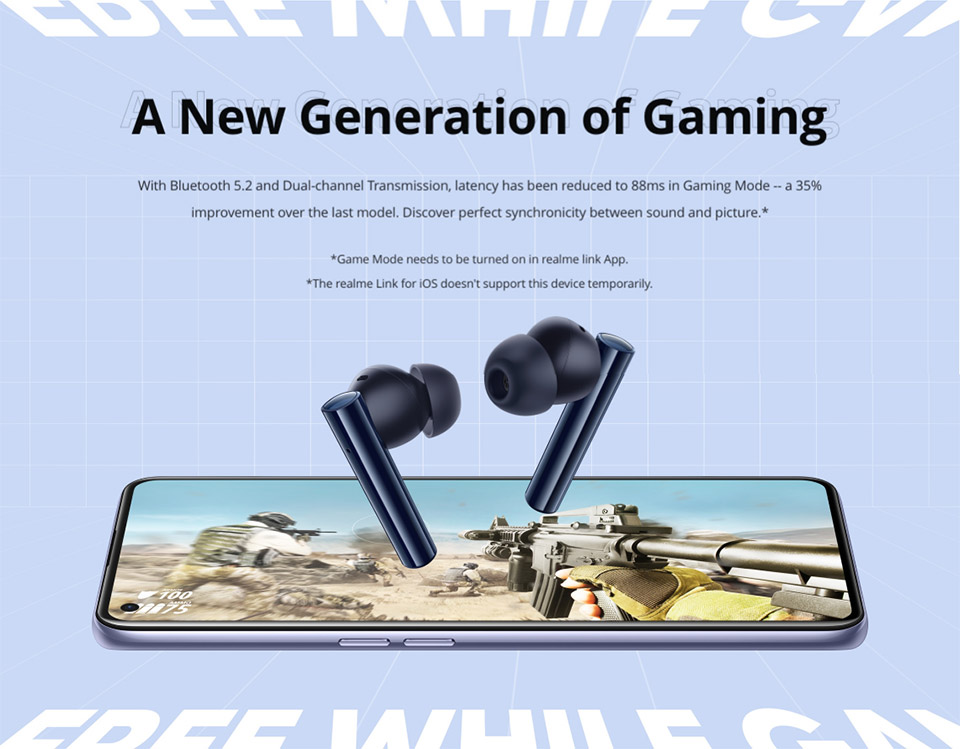 Realme Buds Air 2 with Active Noise Cancellation 7
