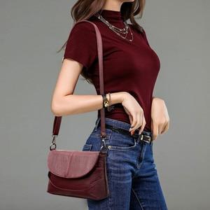 Image 2 - Luxury Handbags Leather Crossbody Bags For Women Shoulder Messenger Bags Designer Purses and Handbags Sac A Main High Quality