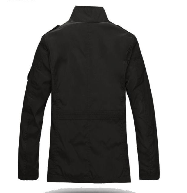 Mężczyźni prochowce Casual High Street Plus rozmiar czarny szczupła stojak kołnierz kieszeń stałe zima Khaki, żeński, moda mężczyzna stylowe topy