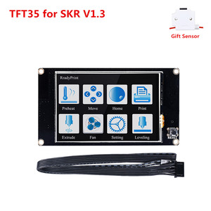 DIY 3D printer LCD units BIGTREETECH TFT35 touch screen V2.0 TFT 3.5 inch LCD touch panel monitor + PLA filament runout sensor