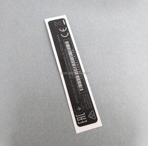 Image 5 - OCGAME 10 sztuk/partia OEM dla kontrolera PS4 obudowa Shell Slim czarny powrót naklejki etykiety uszczelki
