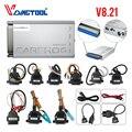 Автомобильный Диагностический Инструмент Carprog V8.21  инструмент для ремонта автомобиля с чипом Prog ECU и 21 адаптером