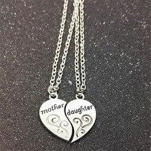 Nova chegada mãe filha colar jóias liga de zinco melhores amigos gargantilha colar para mulher atacado