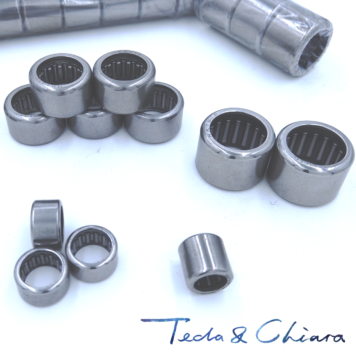 1Pc / 1Piece HK101410 <font><b>HK1010</b></font> 10 x 14 x 10 mm Drawn Cup Type Needle Roller Bearing High Quality * image