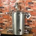 55 Double Wall/ steam jacket Boiler, Distillation tank, Tank. Micro Brewery Tank. Stainless Steel 304