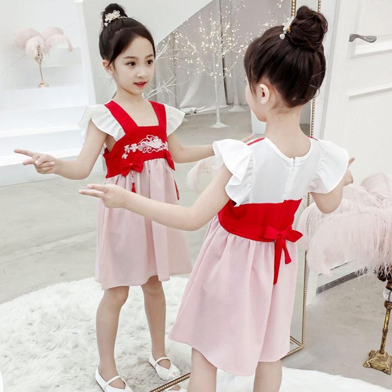 Gyratedream Dress Baby Girls Long Sleeve Kids Cheongsam