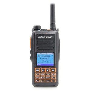 Image 2 - جديد BaoFeng UHF VHF المزدوج العلامة التجارية DMR DM 760 الطبقة 1 و 2 المزدوج الوقت فتحة الرقمية/التناظرية اسلكية تخاطب مع نظام تحديد المواقع uppclass من DM 1701