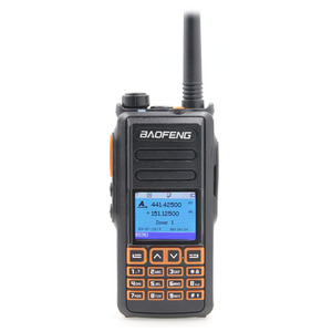 Image 2 - New BaoFeng UHF VHF Dual Brand DMR DM 760 Tier 1&2  Dual Time Slot Digital/Analog Walkie Talkie With GPS uppgrade of DM 1701