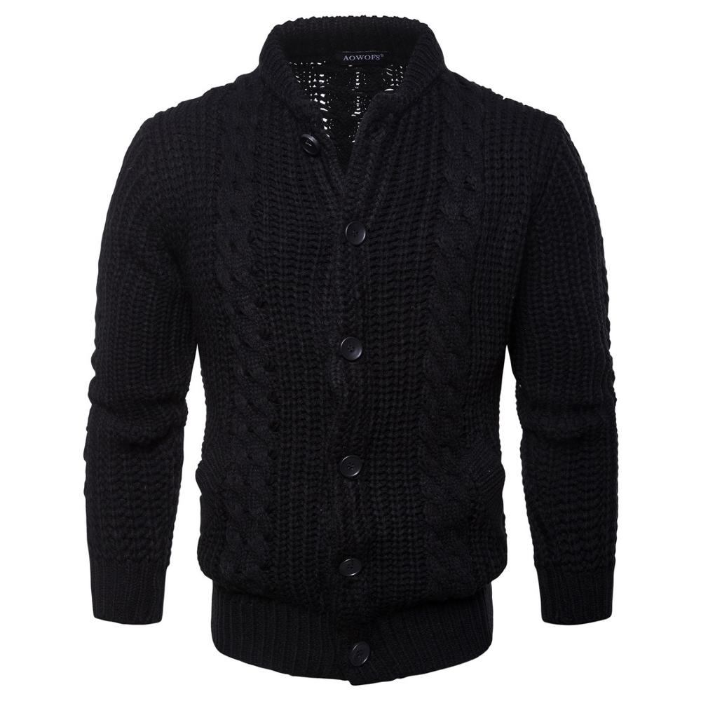 Men Cotton Sweater Pullovers Men O-neck Sweaters  Black Autumn Thin Male Solid Knitting Clothing