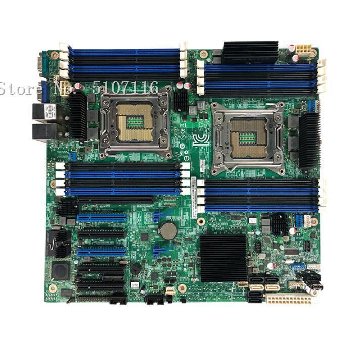Desktop Motherboard For S2600CP 2011 E5-2680 Pin X79 Dual-channel Motherboard Will Test Before Shipping
