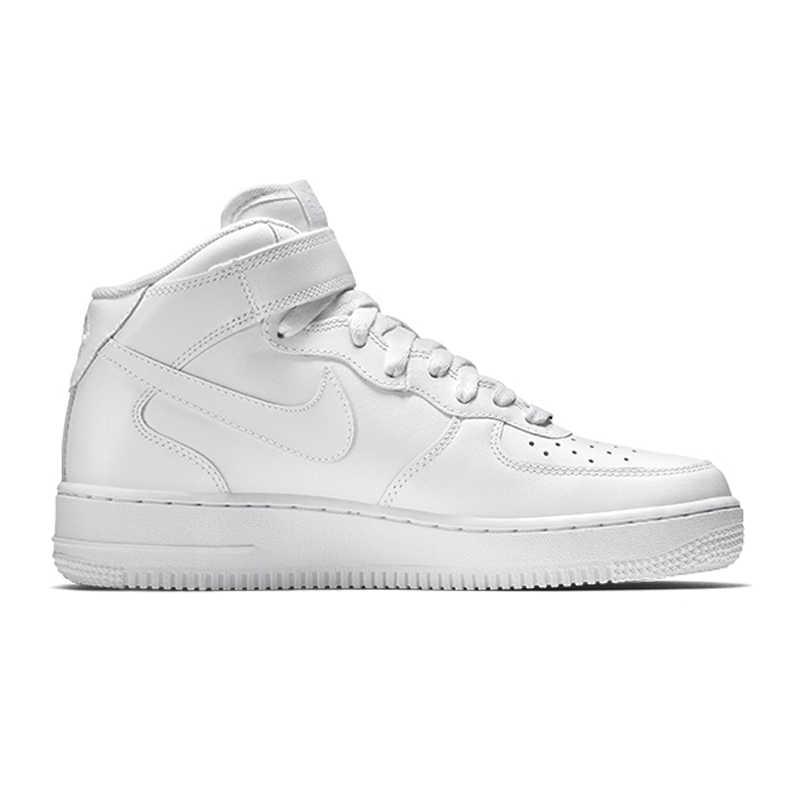 Origina nike air force 1 sapatos de skate masculinos confortáveis clássicos de lazer de alta qualidade anti-deslizamento branco tênis novo designer 315123