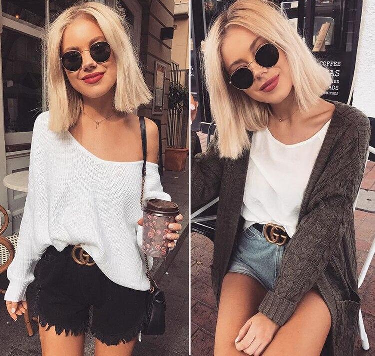 Classic Oval Polarized Sunglasses Women 2021 trend Designer Retro Driving Sunglass Lady Small Round Sun Glasses Shades For Women (5)