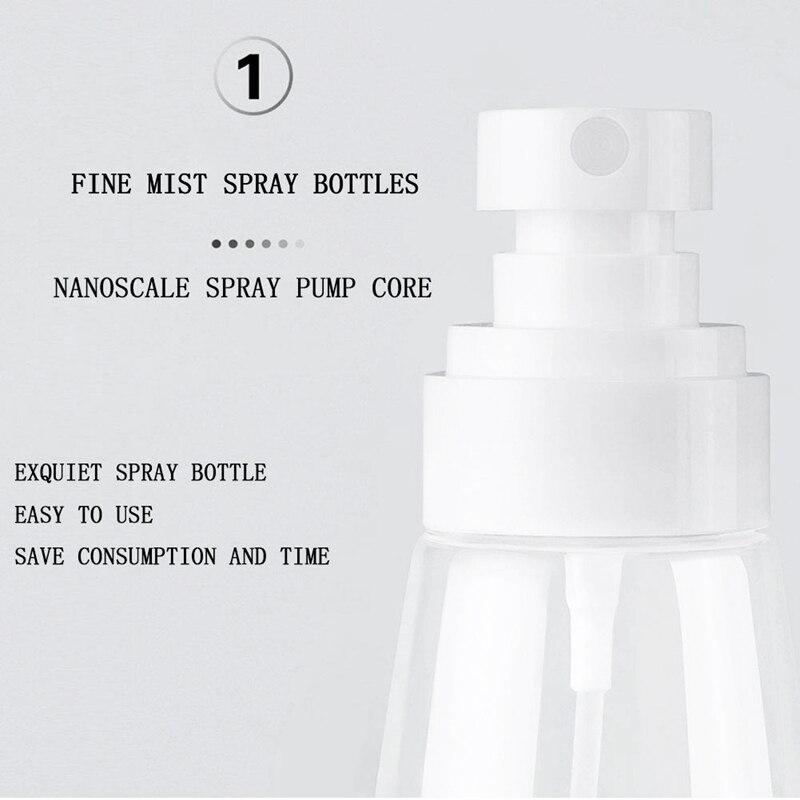 Garrafas de spray 60ml névoa fina vazio