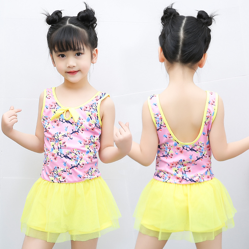 2019 New Products KID'S Swimwear 30-45 Jin Big Virgin Girls Princess Dress-One-piece Swimwear NT526827