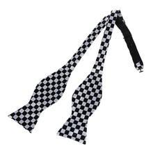 New Trendy Mens Adjustable Self Bow Tie