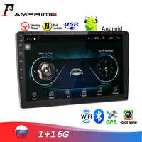 "AMPrime 10.1"" Car Multimedia Player 2 din Android Car Stereo Radio WIFI Audio Mirrorlink Player For Volkswagen Nisan Autoradio"