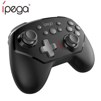 IPega PG-9162 bezprzewodowy gamepad bluetooth dla przełącznika Nintendo sześcioosiowy wibracyjny kontroler do gier ergonomiczny przełącznik ns Pro Joystick tanie i dobre opinie NINTENDO SWITCH Gamepady Black Yellow 235g 8 hours 2 hours 380mAh ≤ 8m
