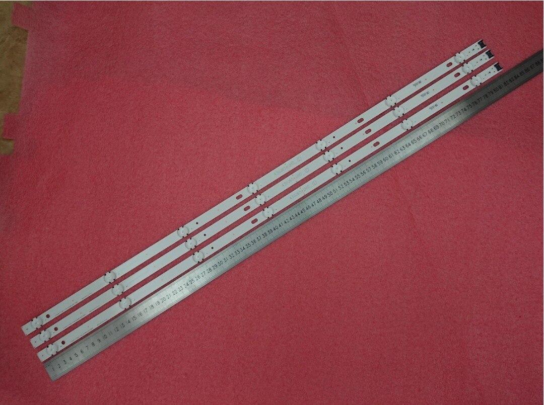 3pcs LED Backlight Strip For LG 43LJ610V 43LJ624V 43UJ670V 43UJ6300 43UJ634V 43UK6300MLB 43LH515V 43LJ550T 43LJ550M3 LC43490063A
