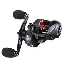 Carretel de pesca 8.1 alta velocidade relação esquerda e direita mão gotejamento carretel de pesca carretel de pesca carretel de arremesso carretel de pesca
