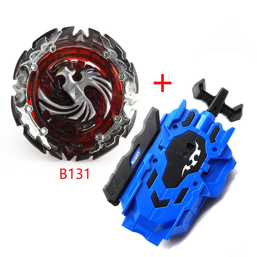 Beyblades Burst B105 B97 B00 B131, двусторонняя металлическая пусковая установка, топ-стартер, гироскоп, вращающаяся игрушка для боя