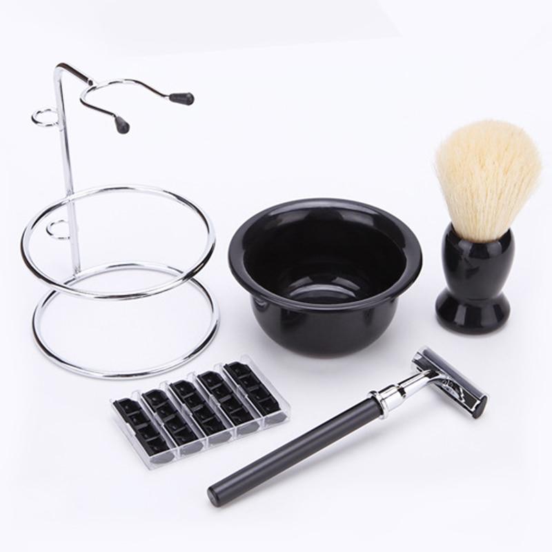 5 em 1 suporte de barbear preto