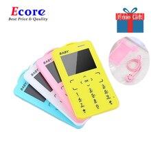"""T5 мини мобильные телефоны 1,"""" MP3 с низкой радиацией кнопка маленький тонкий размер ультра тонкий карман для карт студенческий мобильный телефон"""
