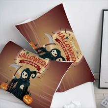 3D halloween reaper Pillow Case Pillowcase 50x70/50x75/70x70 Decorative Pillow Cover,Bedding for Kids/baby/children Drop Ship